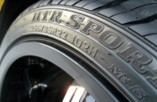 SUMITOMO® - HTR Sport H/P Tires on Car