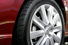 SUMITOMO® - HTR Z III Tires on Mazda 3