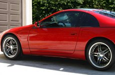 SUMITOMO® - HTR Z III Tires on Nissan 300ZX - Side View