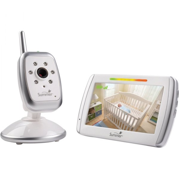 summer infant 29000a wide view video baby monitor. Black Bedroom Furniture Sets. Home Design Ideas