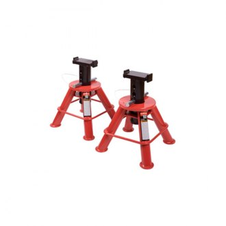 Sunex® - 10 Ton Low Height Pin Type Jack Stands