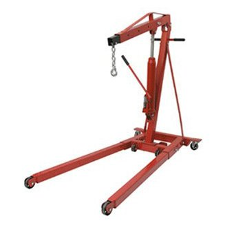 Sunex® - 2 Ton Foldable Engine Crane with Rapid Rise Feature