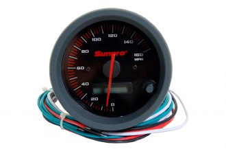 Sunpro® - Sport ST™ 3-3/8 Replacement Speedometer Gauge, 0 - 160 MPH