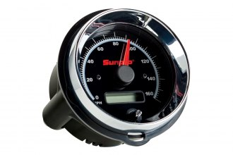 Sunpro® - Super III 3-3/8 Replacement Speedometer Gauge, 0 - 160 MPH