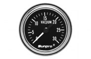 "Sunpro� - Retro Line� Replacement 2"" Mechanical Vacuum Gauge"