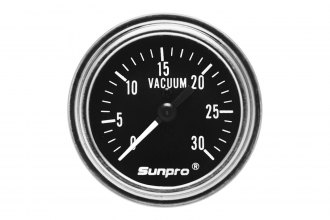 "Sunpro® - Retro Line™ Replacement 2"" Mechanical Vacuum Gauge"