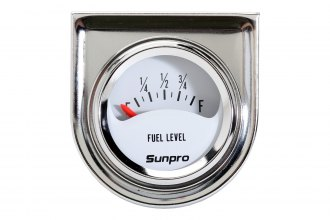 Sunpro® - Mini StyleLine™ 1-1/2 Electrical Fuel Level Gauge