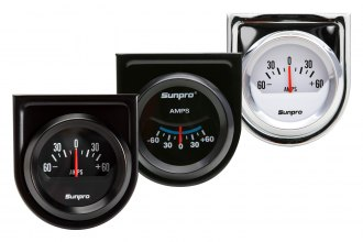 "Sunpro® - 2"" Electrical Ammeter Gauge"