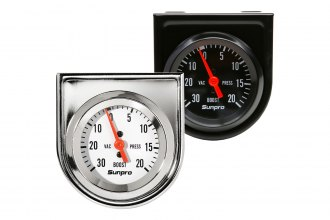 "Sunpro® - 2"" Mechanical Vacuum / Boost Gauge"
