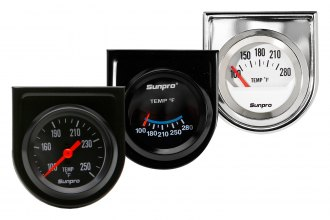 "Sunpro® - 2"" Oil / Water Temperature Gauge"