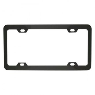 Superior Automotive® - EdgeEFFEX™ Elite Series Black Carded License Plate Frame