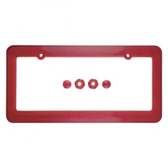 Superior Automotive® - EdgeEFFEX™ Reflective Plastic License Plate Frame