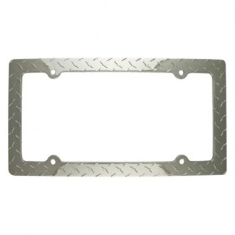 Superior Automotive® - EdgeEFFEX™ Diamond Style License Plate Frame