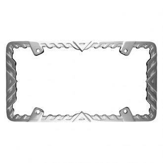 Superior Automotive® - EdgeEFFEX™ Designer/Wedge License Plate Frame