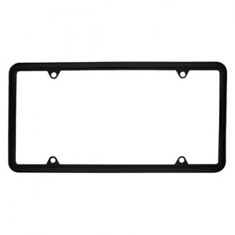 Superior Automotive® - EdgeEFFEX™ Slim Rolled-Edge Style License Plate Frame