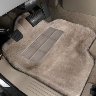Superlamb® - Tailormade Sheepskin 1st Row Cream Floor Mats with Heel Pad