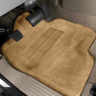 Superlamb® - Tailormade Sheepskin 1st Row Gold Floor Mats with Heel Pad