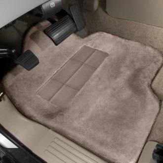 Superlamb® - Tailormade Sheepskin 1st Row Mushroom Floor Mats with Heel Pad