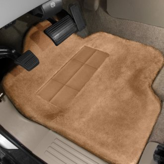 Superlamb® - Tailormade Sheepskin 1st Row Palomino Floor Mats with Heel Pad