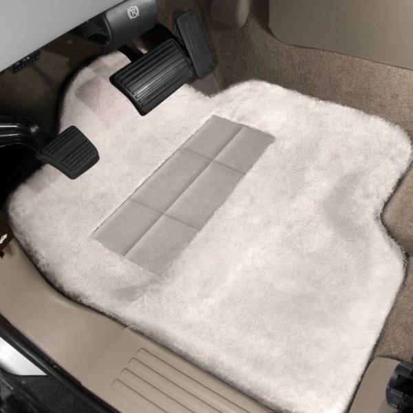 Superlamb® - Tailor-Made Sheepskin Pearl Floor Mats with Heel Pad