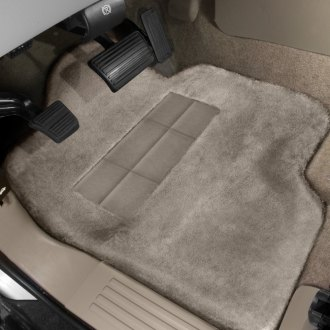 Superlamb® - Tailormade Sheepskin 1st Row Sand Floor Mats with Heel Pad