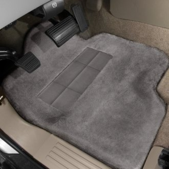 Superlamb® - Tailormade Sheepskin 1st Row Steel Gray Floor Mats with Heel Pad