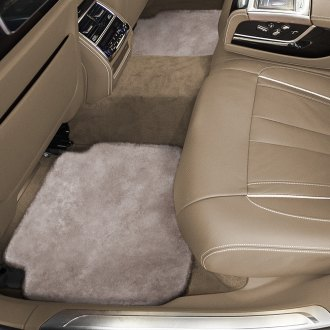 Superlamb® - Tailor-Made Sheepskin 2nd Row Mushroom Floor Mats with Heel Pad