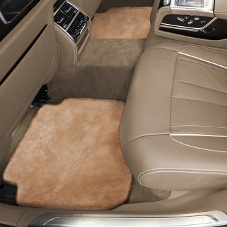 Superlamb® - Tailor-Made Sheepskin 2nd Row Palomino Floor Mats with Heel Pad