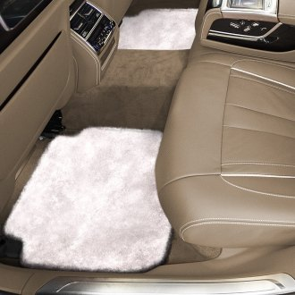 Superlamb® - Tailor-Made Sheepskin 2nd Row Pearl Floor Mats with Heel Pad