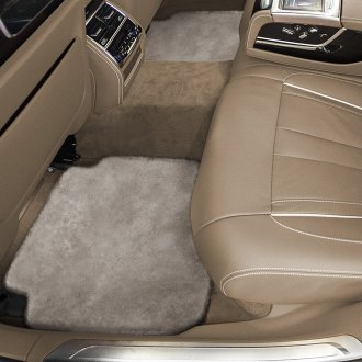 Superlamb® - Tailor-Made Sheepskin 2nd Row Sand Floor Mats with Heel Pad