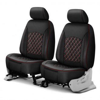 Superlamb® - 3D Design 1st Row Low Back PVC Seat Covers