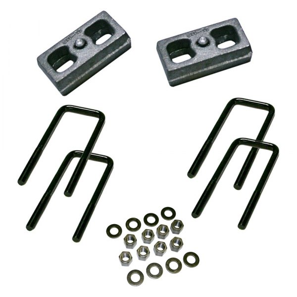 Superlift® - Rear Lifted Blocks and U-Bolts