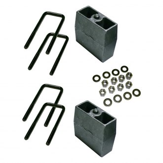 "Superlift® - 5"" Rear Lifted Blocks and U-Bolts"