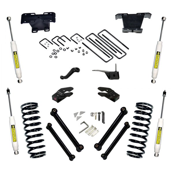 Superlift® - Standard Front and Rear Suspension Lift Kit