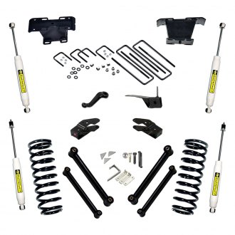 "Superlift® - 5"" x 5"" Standard Front and Rear Suspension Lift Kit"