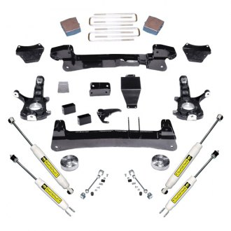 "Superlift® - 6"" x 6"" Standard Front and Rear Suspension Lift Kit"