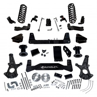 "Superlift® - 6.5"" x 5.5"" Standard Front and Rear Suspension Lift Kit"