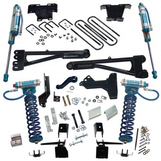 "Superlift® - 6"" x 5"" Radius Arm Front and Rear Suspension Lift Kit"