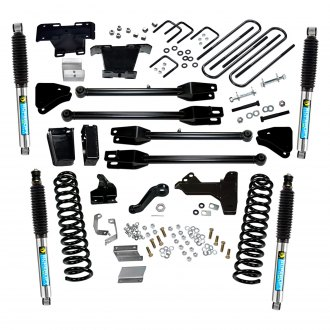 "Superlift® - 6"" x 5"" 4-Link Front and Rear Suspension Lift Kit"
