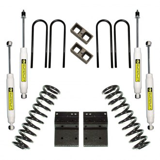 "Superlift® - 4"" x 3"" Master Front and Rear Suspension Lift Kit"
