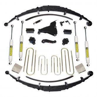 "Superlift® - 8"" x 6.5"" Master Front and Rear Suspension Lift Kit"