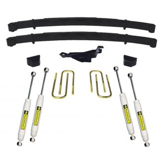 "Superlift® - 3"" x 1.5"" Master Front and Rear Suspension Lift Kit"