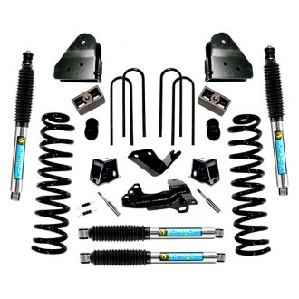 "Superlift® - 4"" x 2.5"" Master Front and Rear Suspension Lift Kit"