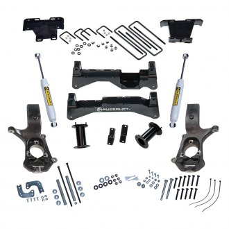 "Superlift® - 8"" x 8"" Standard Front and Rear Suspension Lift Kit"