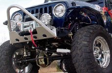 Superlift® Suspension System on Jeep Unlimited