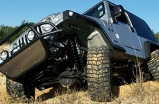 Jeep Wrangler Suspension System by Superlift®