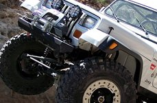Jeep Wrangler with Superlift® Suspension System