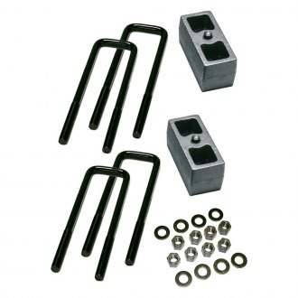 "Superlift® - 3"" Rear Lifted Blocks and U-Bolts"