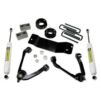 "Superlift® - 3.5"" x 3.5"" Standard Front and Rear Suspension Lift Kit"