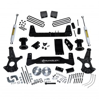 "Superlift® - 6.5"" Standard Front and Rear Suspension Lift Kit"